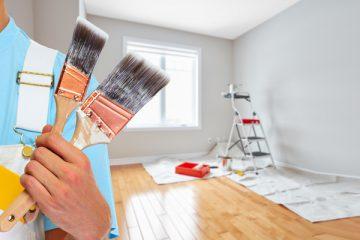 Gereedschap van een schilder