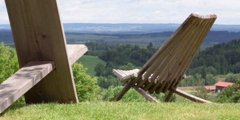 Comfortabele tuinstoel