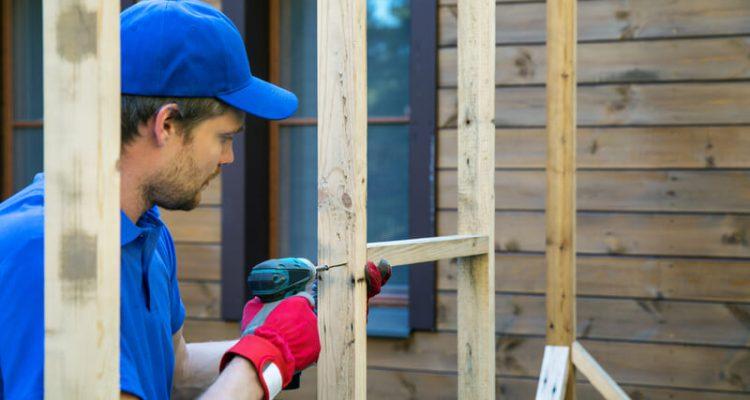 schuur zelf bouwen
