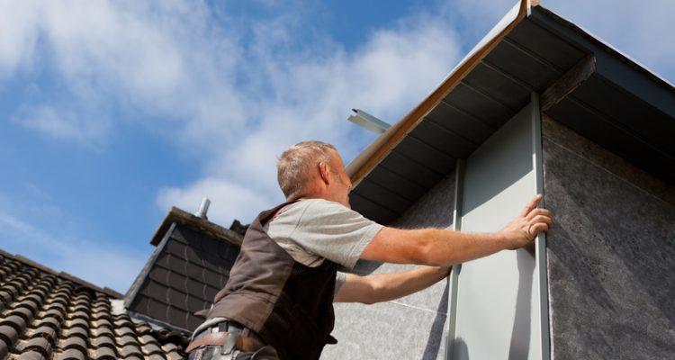 installatie van een dakopbouw