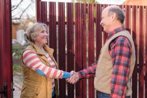 houd de buren te vriend tijdens een verbouwing